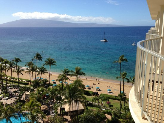 Westin Maui Resort And Spa : view from balcony