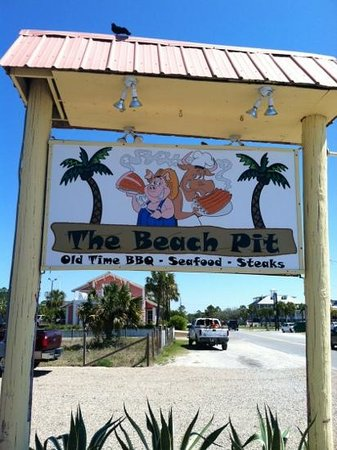The Beach Pit : located on st. George island