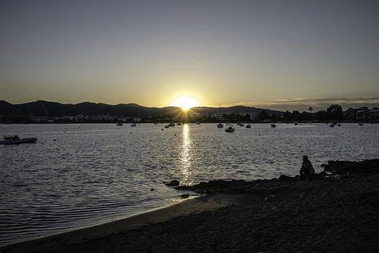 Sa Punta de Talamanca : View from the terrace