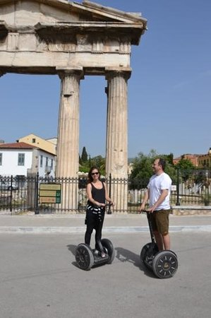 Athens Segway Tours: my wife and I