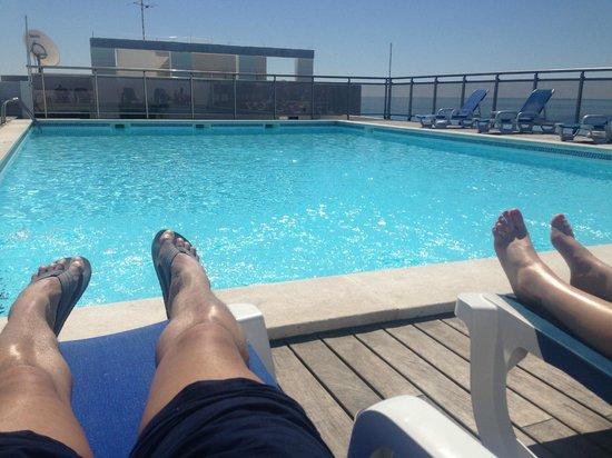 Carvi Beach Hotel Algarve Roof Top Pool