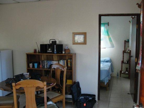 Rancho Cecilia Nicaragua : Casita interior, Rancho Cecilia
