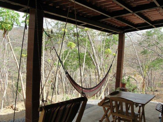 Rancho Cecilia Nicaragua: Jungle Cabana deck