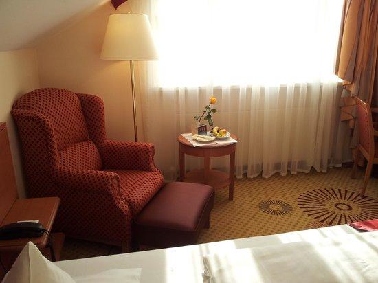 Hotel St. Wolfgang: Stanza (soggiorno)