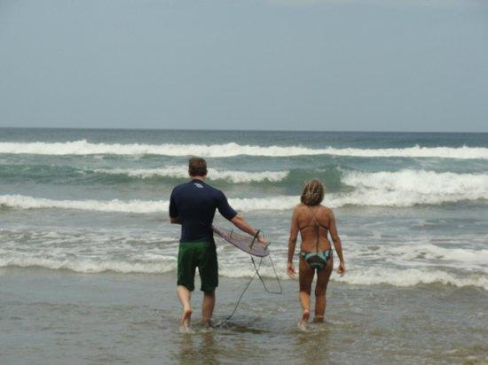 Rancho Cecilia Nicaragua: Surf lessons