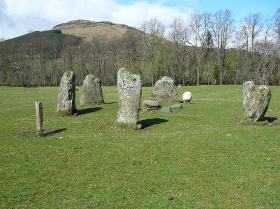 Killin, UK: Kinnell Stone Circle