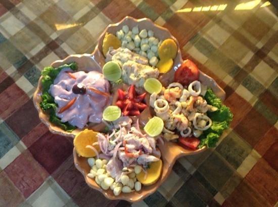 Costazul Seafood: Orgía de Mariscos