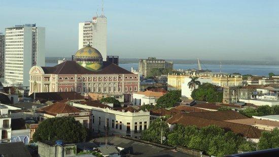 Hotel Saint Paul: Manaus depuis ma chambre