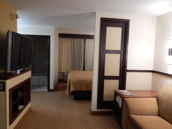 Hyatt Place Baltimore/BWI Airport : View of the room from the front door