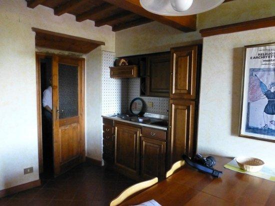 Fattoria degli Usignoli : Kitchen area