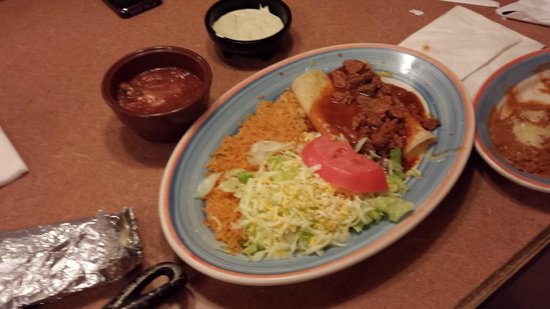 Campestre Mexican Grill: Beef enchilada