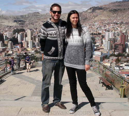 La Paz Walking Tours: 360 degree lookout point