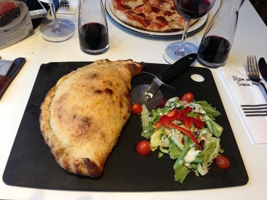 Pizza Express: Yummy Calzone
