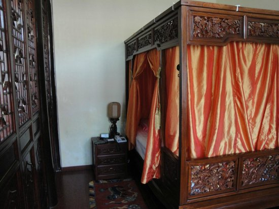 Beijing Sihe Courtyard Hotel: Bed