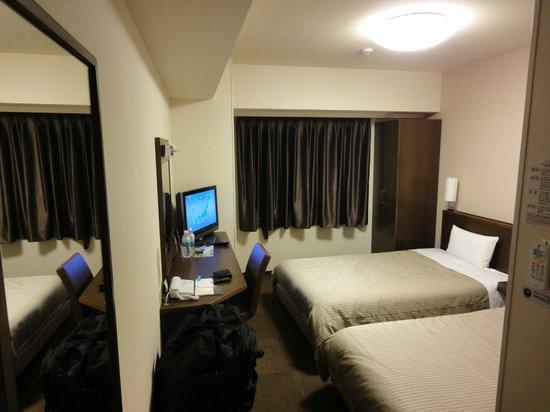 Hotel Route-Inn Toyota Jinnaka : ツインルーム