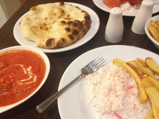 Saif Indian Restaurant & Bar.: Good portions