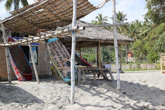 Senggigi Beach: wat verouderd maar goed materiaal