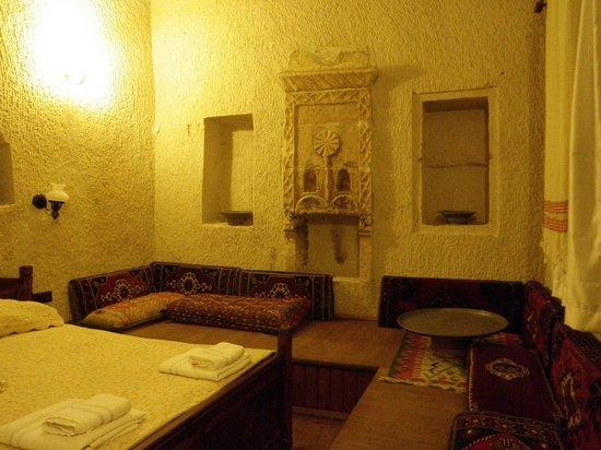 Vineyard Cave Hotel: Nuestra habitación