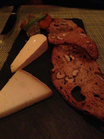 AQ: cheese course