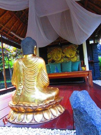 B&B Home Stay Griya Jungutan: meditation sala