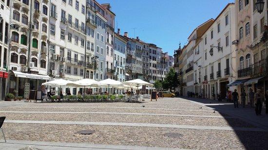 Praça do Comércio, Coimbra.