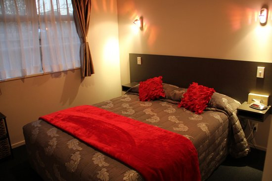 315 Motel Riccarton: Th bedrooom