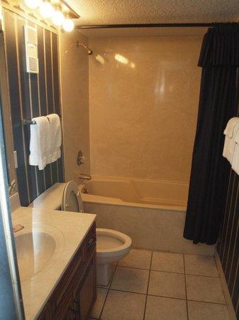 Edgewater Beach Condominium : Master bathroom