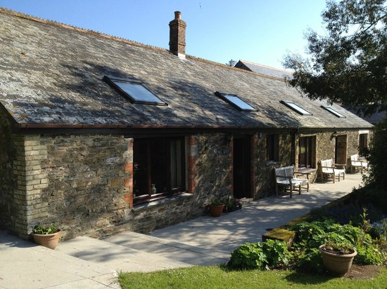 Bucklawren Bed and Breakfast and Self-Catering Cottages: The Horseshoe!