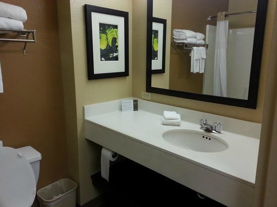 Extended Stay America - Seattle - Northgate: Bathroom
