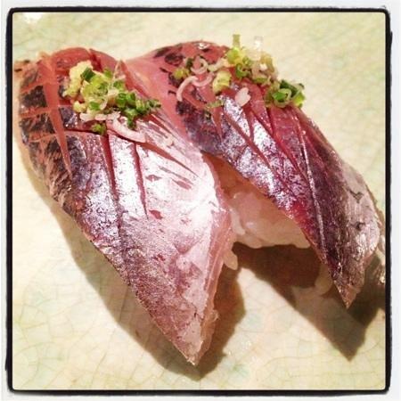 Taka Sushi Japanese Restaurant: Aji sushi