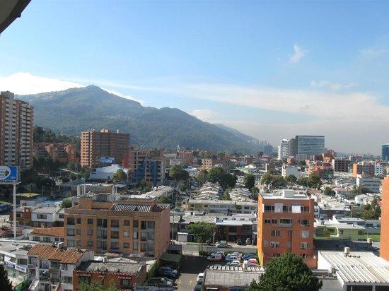 Hotel Bogota Regency: vista desde la habitacion