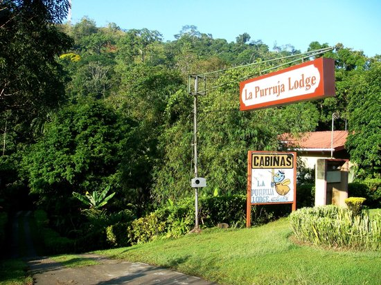 La Purruja Lodge: Entrada do lodge
