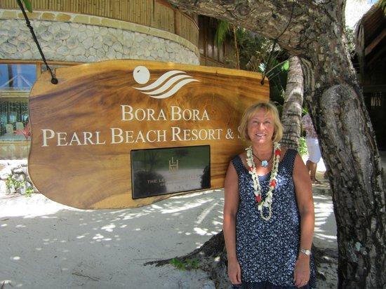 Bora Bora Pearl Beach Resort & Spa: À l'arrivée