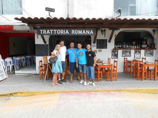 Tulum Trattoria Romana: Pessoal do Trattoria Romana. Só gente fina!