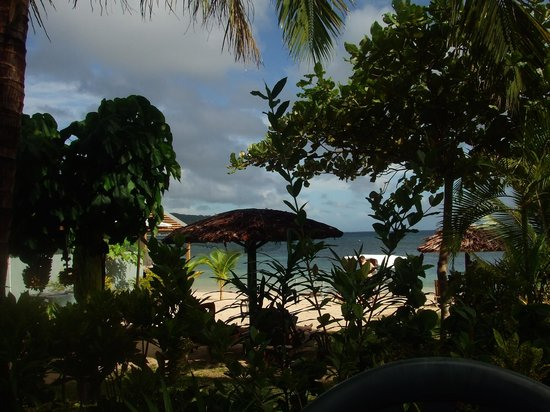 Savaii Lagoon Resort: View from our bungalow
