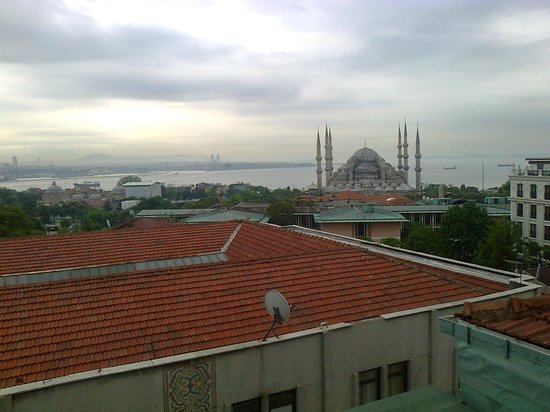 Nena Hotel: View from terrace