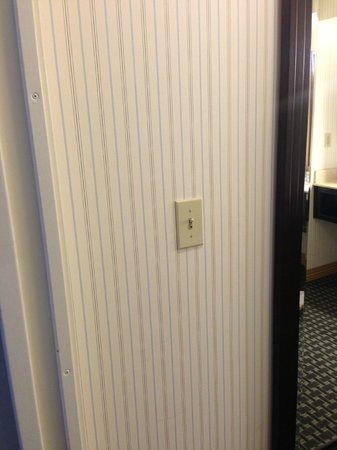 Marriott Vacation Club Pulse San Diego: OLD 3 STAR LIGHT SWITCH COVERS