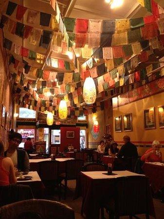 Himalaya Restaurant : Beautiful Nepalese decor