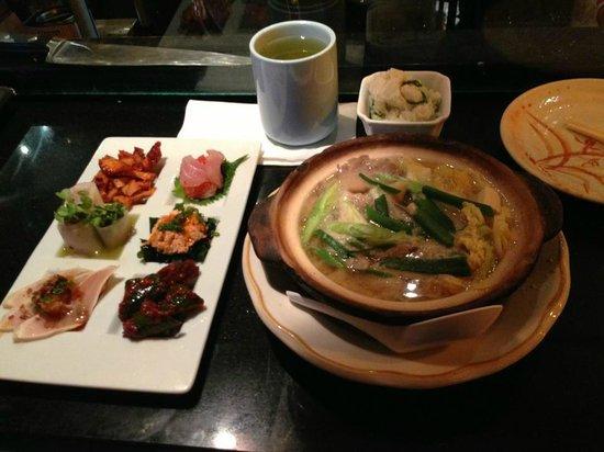 Yakko-San: Daily chef's pick and miso hot pot