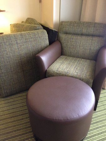 Hilton Orlando Lake Buena Vista - Disney Springs™ Area: Ugly, cheap furniture