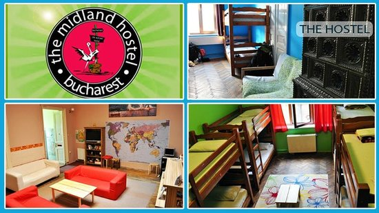The Midland Hostel: Rooms collage