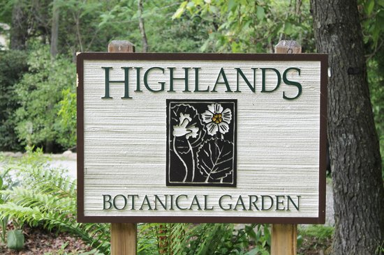 Highlands Biological Station, Nature Center And Botanical Gardens: Sign