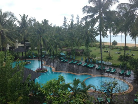 Khaolak Orchid Beach Resort: View from our room
