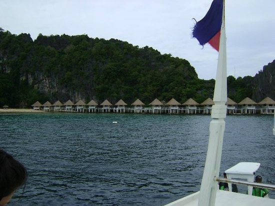 El Nido Resorts Apulit Island: upon arrival