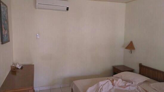Lovina Beach Hotel: AC