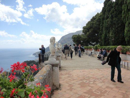Villa Cimbrone Hotel : La terrazza dell'Infinito