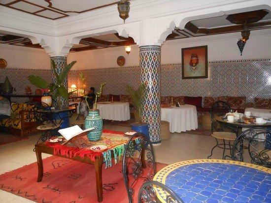 Hotel Cap Sim : Décoration soignée