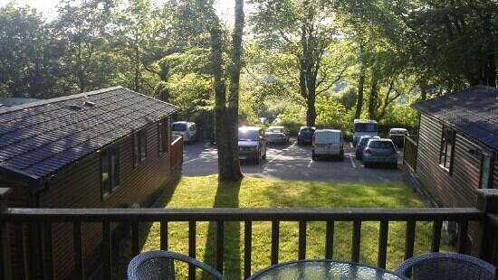 Juliots Well Holiday Park: view from jasmine lodge 31