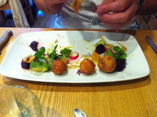 Spire : Goats cheese