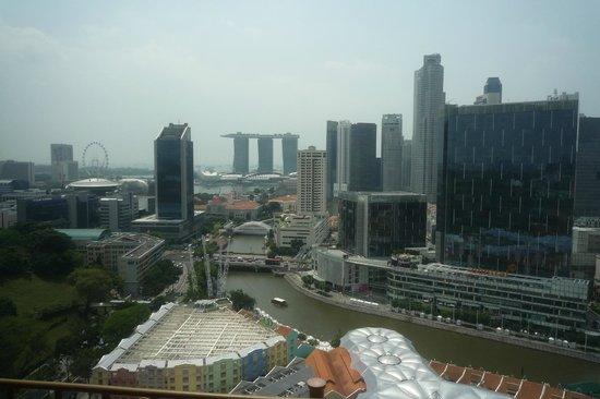 โนโวเทล คลาร์ก คีย์ สิงคโปร์: Vue de la chambre premium